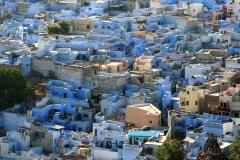 blaue Stadt