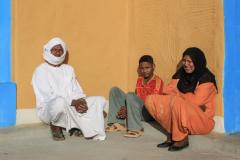 farbenfroh im Sudan